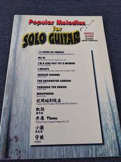 Series Seven Popular Melodies For Solo Guitar