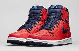"""Air Jordan 1 Retro High OG """"LetterMan""""-9.5"""
