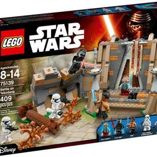 Lego Star Wars 75139 Battle On Takodana - NEW SEALED