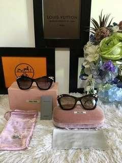 Auth Miu Miu Sunglasses