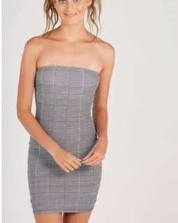 Brand new supre strapless dress