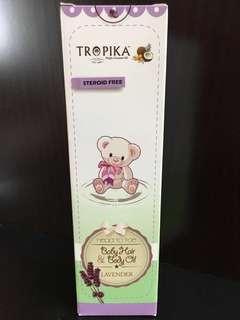 Tropika Baby Hair & Body Oil (Lavender) 250ML