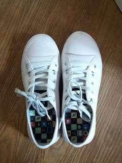 Retro White Sneakers