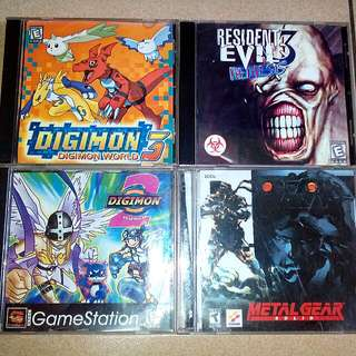 CD Game Ps1