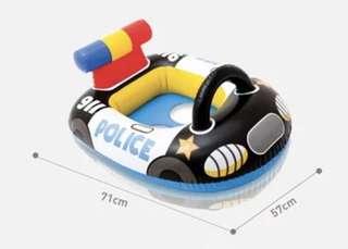 Baby float (police car) - in stock