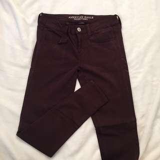 NEW American Eagle Maroon Pants