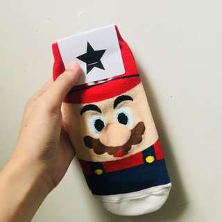 Super Mario Korean Socks