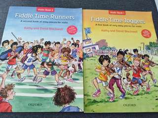 Fiddle Time Runners Violin Book 1&2 Includes CD