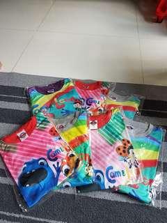 Clearance $5 per set pyjamas set Kid's toddler's