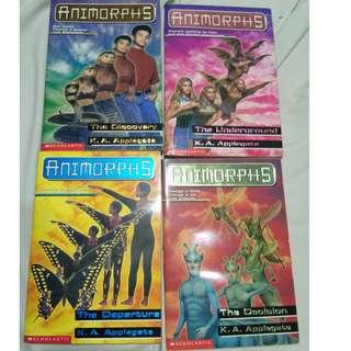Animorphs 17, 18, 19, 20