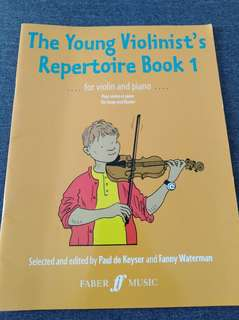 The Yong Violinist Repertoire Book 1