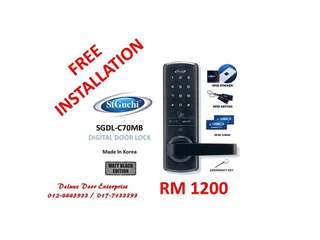 St Guchi Digital Door Lock SGDL-C70MB