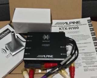 Alpine PXA-H109 Audio Professor and KTX H100 Calibration Kit