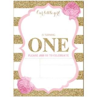 Invitation Card - Classy