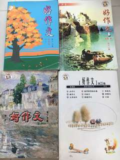 Chinese model composition books for secondary schools