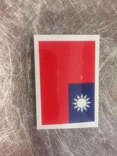 🚚 國旗紋身貼紙