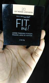 JUAL MAYBELLINE FIT ME LOOSE POWDER - PRELOVED