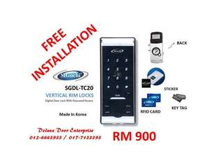 St Guchi Digital Door Lock SGDL-TC20