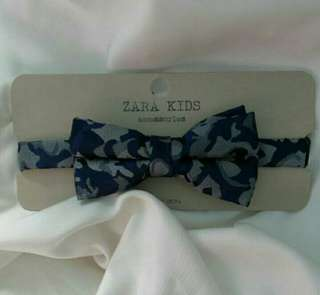 NEW ZARA KIDS BOW TIE 100% ORIGINAL