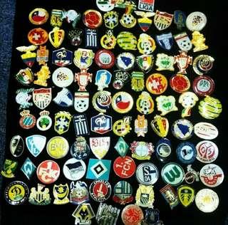 Football team batch pins