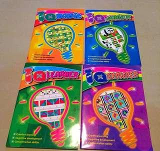 IQ Activities Books For Kindergarten