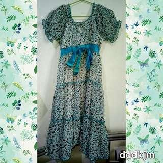 Mineola Lovely Green Dress🌿
