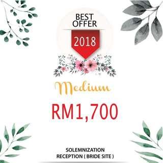 Wedding Pakage 2018