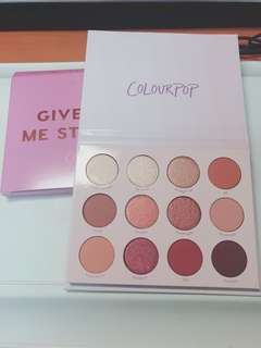全新Colourpop-Give it to me straight
