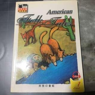彩色英文兒童書: American Folk Tales