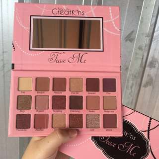 Beauty creation tease me eyeshadow