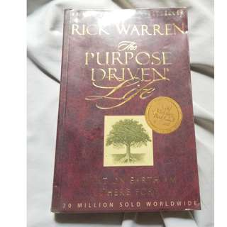 The Purpose Driven Life by Rick Warren (Original Paper Back)