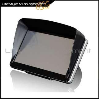4.3/5/7-inch GPS Sunshield Universal GPS Navigator Hood/Cover Light Barrier Visor Car Motorcycle GPS