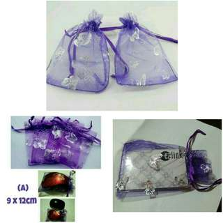 Organza Gift Bags Pouch Wedding Favors