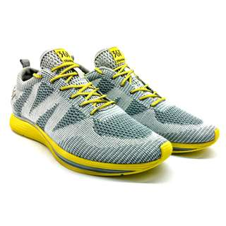 361 Ultra-lightweight Knitted Shoes (Grey/Yellow)