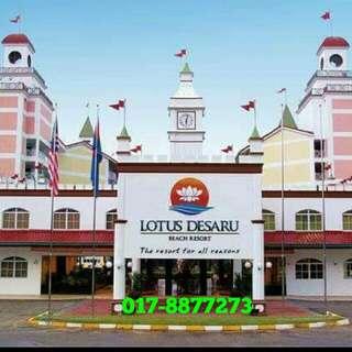 Johor 2D1N Stay & Play Package Lotus Desaru