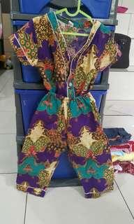 Baju tidur batik set