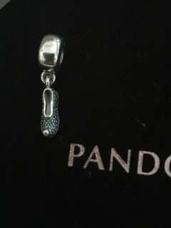 Pandora Disney Jasmine shoe dangle charm