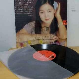 鄧麗君黑膠唱片。一封情書。有一條痕。無歌詞。只適宜收藏用