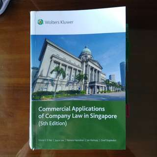 Commercial Applications of Company Law in Singapore - Yeo & Lee 5th Ed