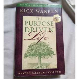 The Purpose Driven Life by Rick Warren (Original Hardbound)