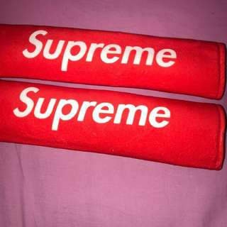Supreme Seat Belt Covers