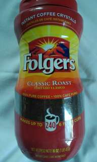 Folgers Coffee makes 240 cups