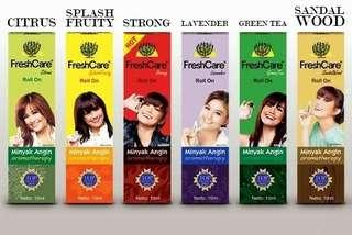 FreshCare Roll On / FreshCare Aromatheraphy