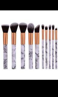 10pc set marble brush