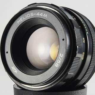 **日光銀鹽** 蘇聯 俄鏡 八羽怪 HELIOS 44M 58mm F2 Nikon 接環 全幅可用 #701