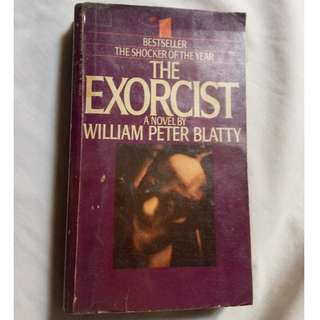 Exorcist (Novel) by William Peter Blatty (Original Paperback)