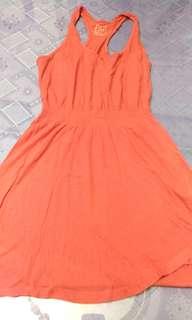 Slightly used Original Bershka peach/pink sleeveless top from Spain