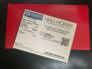 Niall Horan Flicker Tour VVIP Standing