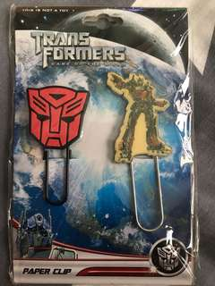 Transformers Bookmarks