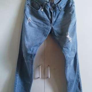 Von Dutch ripped jeans